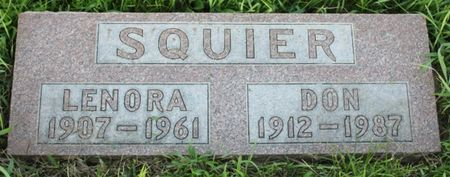 SQUIER, DON - Page County, Iowa | DON SQUIER