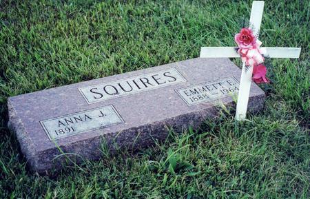 ROBINSON SQUIRES, ANNA - Page County, Iowa | ANNA ROBINSON SQUIRES