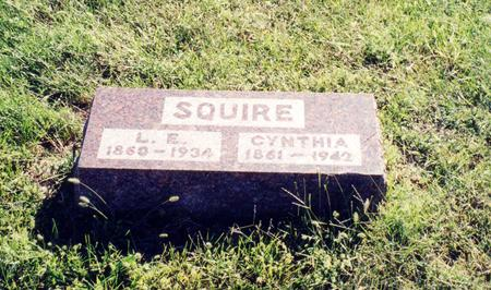 SQUIRES, CYNTHIA - Page County, Iowa | CYNTHIA SQUIRES