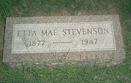STEVENSON, ETTA MAE - Page County, Iowa | ETTA MAE STEVENSON