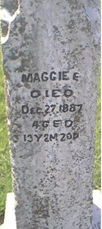 STEVENSON, MAGGIE E. - Page County, Iowa | MAGGIE E. STEVENSON