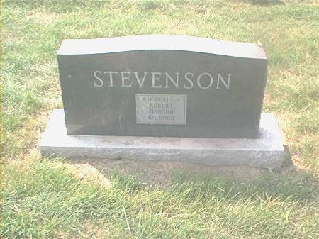 STEVENSON, RICHARD - Page County, Iowa | RICHARD STEVENSON