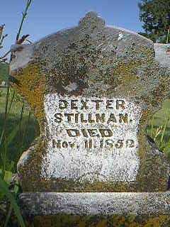 STILLMAN, DEXTER - Page County, Iowa   DEXTER STILLMAN