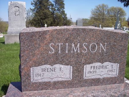 STIMSON, FREDRIC T. - Page County, Iowa | FREDRIC T. STIMSON