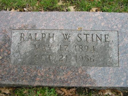 STINE, RALPH - Page County, Iowa | RALPH STINE