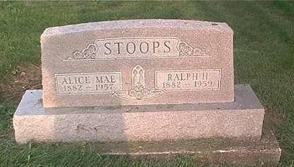 STOOPS, ALICE MAE - Page County, Iowa | ALICE MAE STOOPS