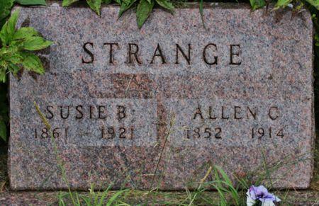 STRANGE, ALLEN C - Page County, Iowa   ALLEN C STRANGE