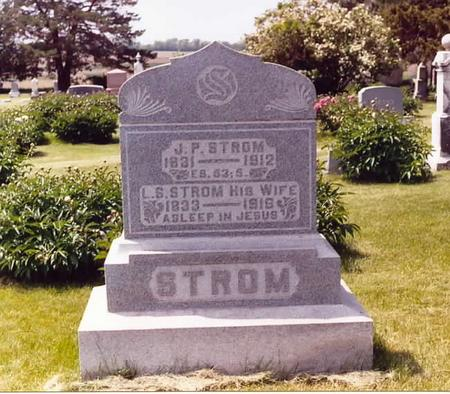 STROM, J. PETER & LINA (MALBERG) - Page County, Iowa | J. PETER & LINA (MALBERG) STROM