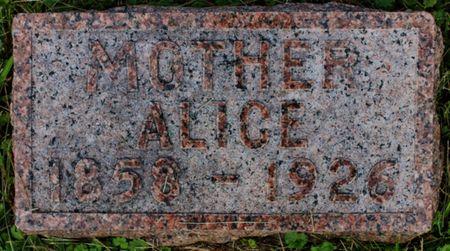 SWANEY, ALICE - Page County, Iowa | ALICE SWANEY