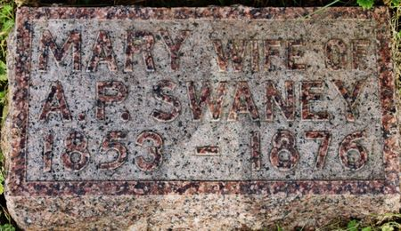 SWANEY, MARY - Page County, Iowa   MARY SWANEY