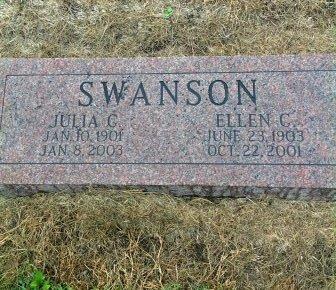 SWANSON, ELLEN - Page County, Iowa   ELLEN SWANSON