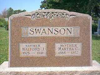 SWANSON, MARTHA - Page County, Iowa | MARTHA SWANSON
