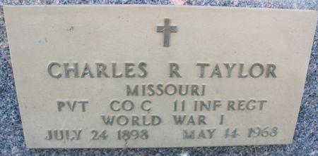TAYLOR, CHARLES RALPH - Page County, Iowa   CHARLES RALPH TAYLOR
