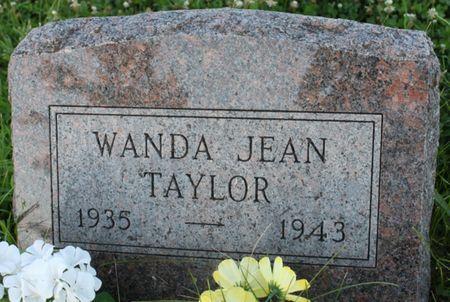 TAYLOR, WANDA JEAN - Page County, Iowa   WANDA JEAN TAYLOR