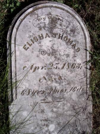 THOMAS, ELISHA - Page County, Iowa | ELISHA THOMAS