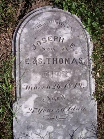 THOMAS, JOSEPH E. - Page County, Iowa | JOSEPH E. THOMAS