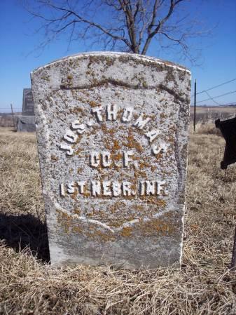 THOMAS, JOS. - Page County, Iowa | JOS. THOMAS