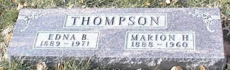 WHITEHILL THOMPSON, EDNA BLANCHE - Page County, Iowa | EDNA BLANCHE WHITEHILL THOMPSON