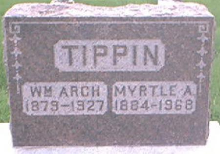 TIPPIN, MYRTLE A. - Page County, Iowa | MYRTLE A. TIPPIN