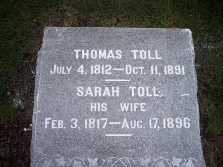 TOLL, THOMAS - Page County, Iowa | THOMAS TOLL