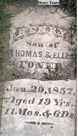 TONER, HENRY - Page County, Iowa | HENRY TONER