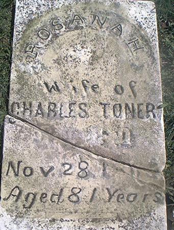 TONER, ROSANA H. - Page County, Iowa   ROSANA H. TONER