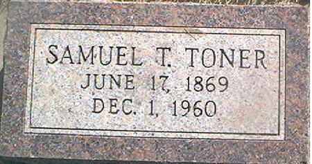 TONER, SAMUEL T. - Page County, Iowa | SAMUEL T. TONER