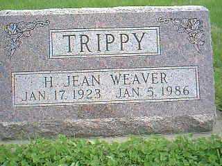 WEAVER TRIPPY, H. JEAN - Page County, Iowa   H. JEAN WEAVER TRIPPY