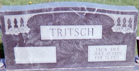 TRITSCH, JACK DEE - Page County, Iowa | JACK DEE TRITSCH