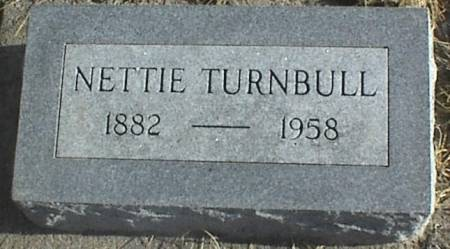 TURNBULL, NETTIE - Page County, Iowa | NETTIE TURNBULL