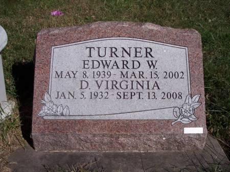 TURNER, D. VIRGINIA - Page County, Iowa | D. VIRGINIA TURNER