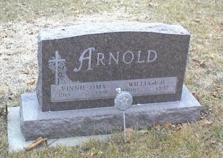 ARNOLD, VINNIE OMA & WILLIAM H. - Page County, Iowa | VINNIE OMA & WILLIAM H. ARNOLD