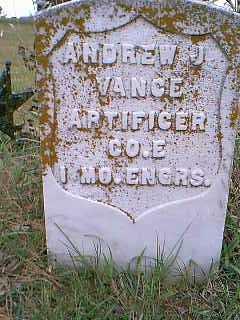 VANCE, ANDREW J. - Page County, Iowa | ANDREW J. VANCE