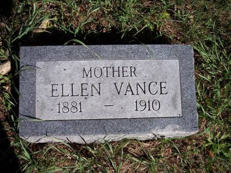 VANCE, ELLEN - Page County, Iowa | ELLEN VANCE