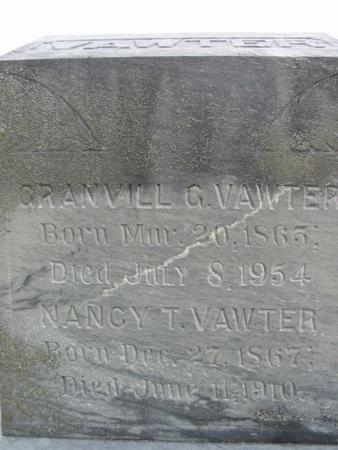 VAWTER, GRANVILL - Page County, Iowa | GRANVILL VAWTER