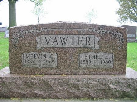 VAWTER, ETHEL - Page County, Iowa | ETHEL VAWTER