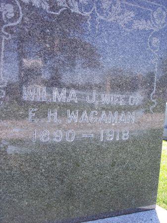 WAGAMAN, WILMA J. - Page County, Iowa | WILMA J. WAGAMAN
