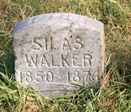WALKER, SILAS - Page County, Iowa   SILAS WALKER