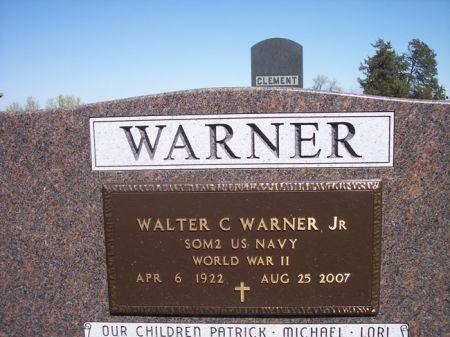 WARNER, WALTER C. JR - Page County, Iowa | WALTER C. JR WARNER