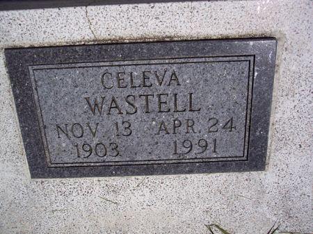 WASTELL, CELEVA - Page County, Iowa   CELEVA WASTELL
