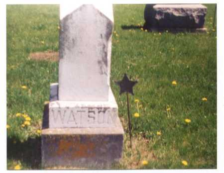 WALKER WATSON, MELVINA - Page County, Iowa | MELVINA WALKER WATSON