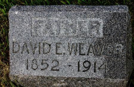 WEAVER, DAVID E - Page County, Iowa | DAVID E WEAVER