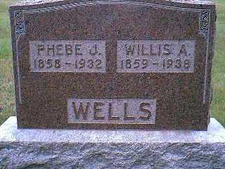 WELLS, PHEBE J. - Page County, Iowa | PHEBE J. WELLS