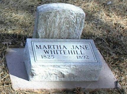 WHITEHILL, MARTHA JANE - Page County, Iowa | MARTHA JANE WHITEHILL