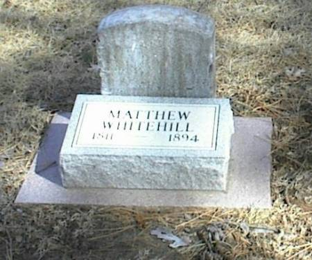 WHITEHILL, MATTHEW - Page County, Iowa | MATTHEW WHITEHILL