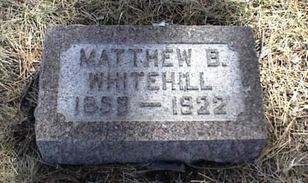 WHITEHILL, MATTHEW BROWN - Page County, Iowa | MATTHEW BROWN WHITEHILL