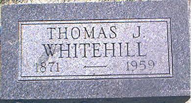 WHITEHILL, THOMAS J. - Page County, Iowa | THOMAS J. WHITEHILL