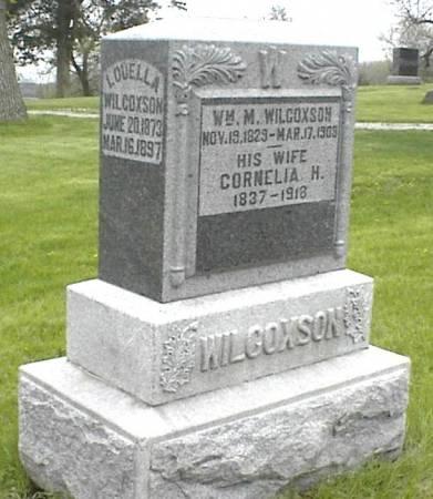 WILCOXSON, WILLIAM M. - Page County, Iowa | WILLIAM M. WILCOXSON