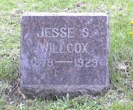 WILLCOX, JESSE S. - Page County, Iowa | JESSE S. WILLCOX