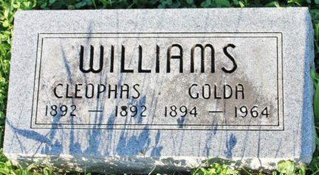 WILLIAMS, GOLDA - Page County, Iowa   GOLDA WILLIAMS